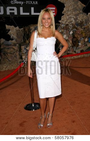 Lauren C. Mayhew  at the World Premiere of