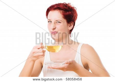 Woman Dont Like The Tea