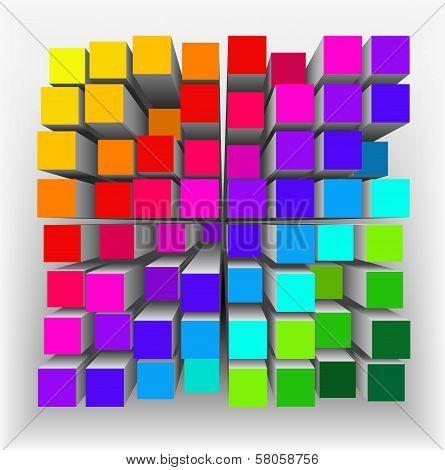 Abstract Geometrical Shape.