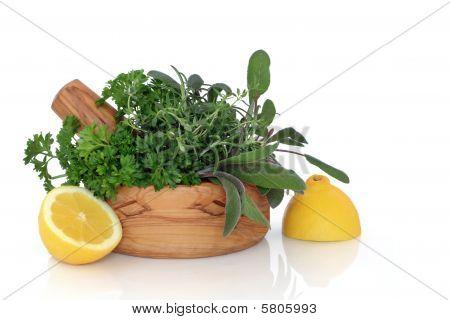 Herb and Lemon Freshness