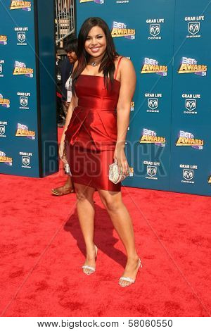 Jordin Sparks  at the BET Awards '08. Shrine Auditorium, Los Angeles, CA. 06-24-08