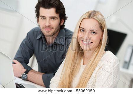 Beautiful Successful Young Businesswoman