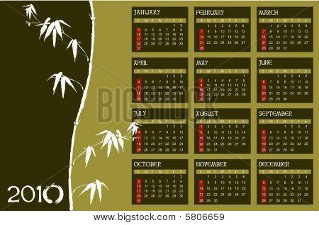 Calendar 2010 Zen