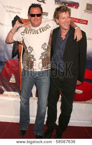 Michael Madsen and Declan Joyce  at the world premiere screening of
