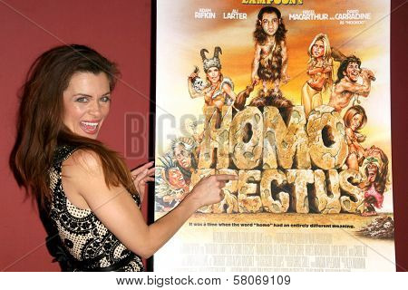 Alicia Arden  at the Preview Screening of