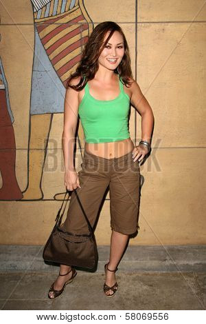Mary Christina Brown  at the Preview Screening of
