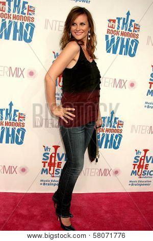 Bonnie Somerville  at the VH1 Rock Honors Party. Intermix Boutique, Los Angeles, CA. 07-11-08