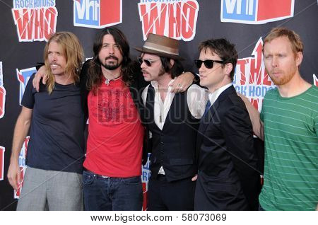 Foo Fighters  at the 2008 VH1 Rock Honors The Who. Pauley Pavilion, UCLA, Westwood, CA. 07-12-08