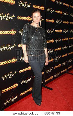 Bonnie Somerville  at the Gamespot HotSpot Party. GOA Nightclub, Hollywood, CA. 07-15-08