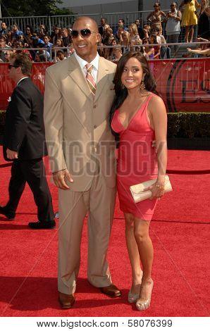 Kellen Winslow Jr  at the 2008 ESPY Awards. Nokia Theatre, Los Angeles, CA. 07-16-08