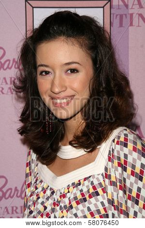 Christian Serratos  at the Pink Plastic Party of the Year celebrating the launch of the Tarina Tarantino Barbie Doll. Tarina Tarantino, Los Angeles, CA. 07-17-08