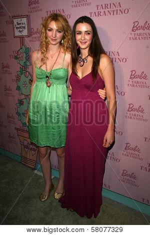 Vanessa Zima and Madeline Zima  at the Pink Plastic Party of the Year celebrating the launch of the Tarina Tarantino Barbie Doll. Tarina Tarantino, Los Angeles, CA. 07-17-08
