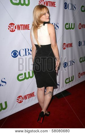 Alexandra Breckenridge  at the CBS, CW and Showtime Press Tour Stars Party, Boulevard3, Hollywood, CA. 07-18-08