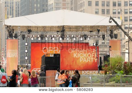 Oprah Kickoff