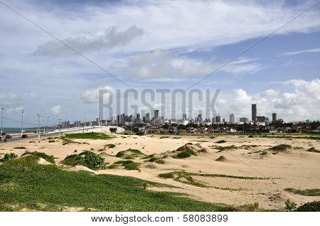 Sand Dunes At Natal, Rio Grande Do Norte (brazil)