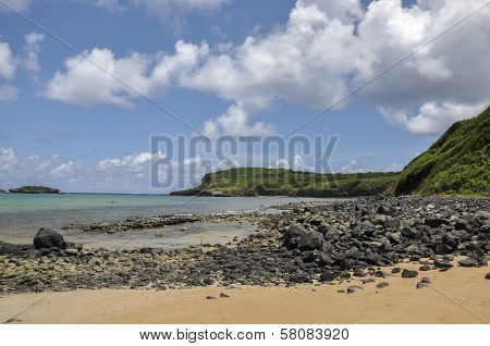 Beach On Fernando De Noronha, Pernambuco (brazil)