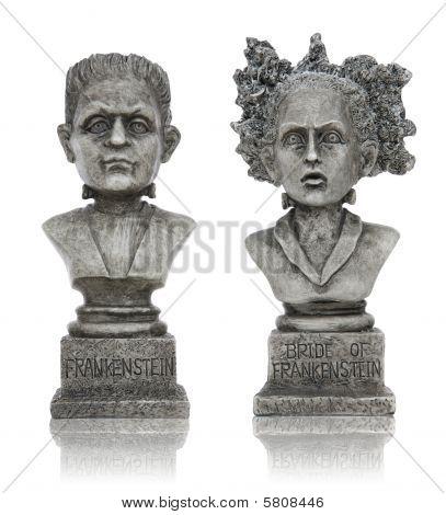 Estátuas de Frankenstein de Halloween