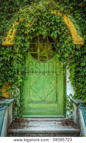 Fairytale Cottage Door