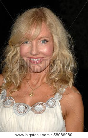 Shelby Chong  at a press conference to announce the