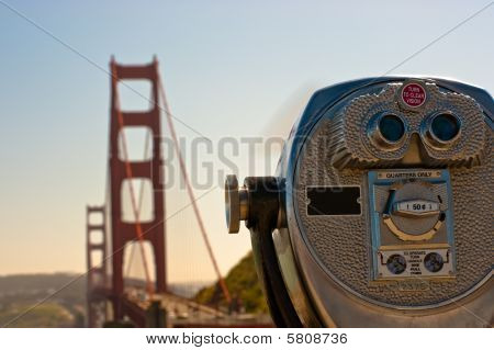 Telescope - Golden Gate Bridge