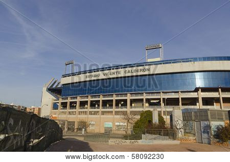 Soccer Stadium Vicente Calderon