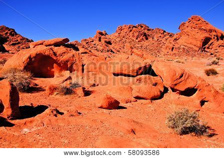 Red rocks of Nevada