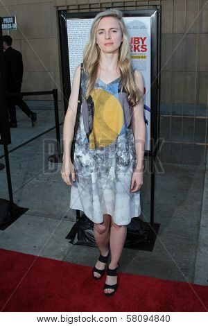 Brit Marling at the