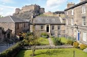 Classical Tenements, Browns Place, Edinburgh, Scotland poster