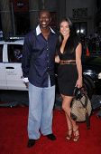 Terrell Owens  at the World Premiere of