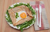 foto of crepes  - Galette de sarasin  - JPG