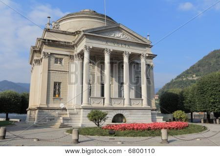 Italy, Como: Tempio Voltiano