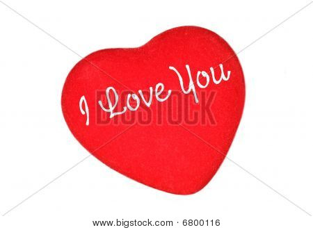 'I Love You' Heart