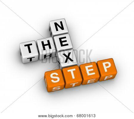 the nex step (orange-white crossword series)