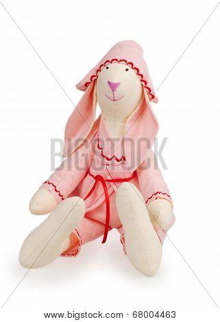 Textile Handmade Rabbit Toy