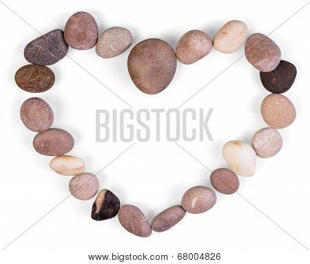 Heart shaped frame