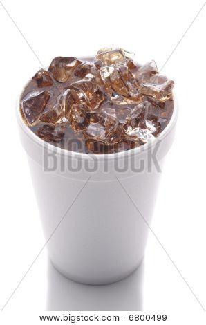 Styrofoam Cup With Soda