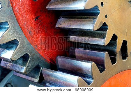 Pinion Gear For Mechanical Machine In Factory