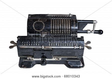 Mechanical Adding Machine