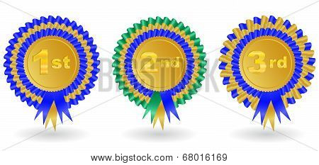 Award Ribbon Set