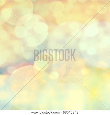 Smooth Pastel Abstract Defocused Bokeh Light Vintage Background. Soft Light Abstract Background With