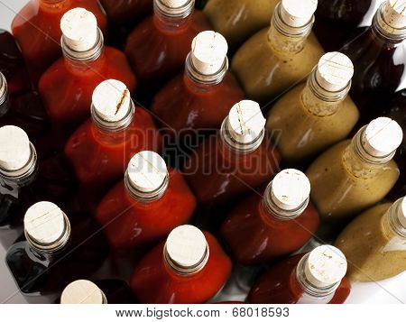 Corks On Hot Sauces