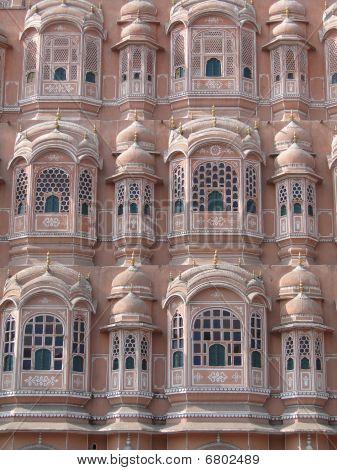 Pink Walls Of The Hawa Mahal