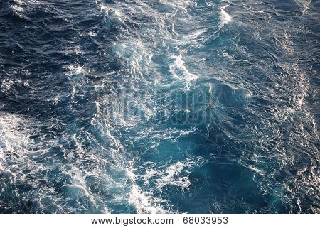 Ocean waves background