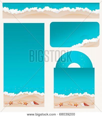 Branding Design Beach Theme