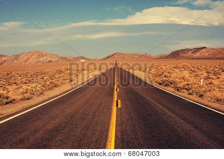 road in prairie