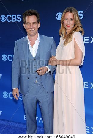 LOS ANGELES - JUN 06:  Maury Sterling & Alexis Boozer arrives to the 'Extant' Premiere Party  on June 06, 2014 in Los Angeles, CA