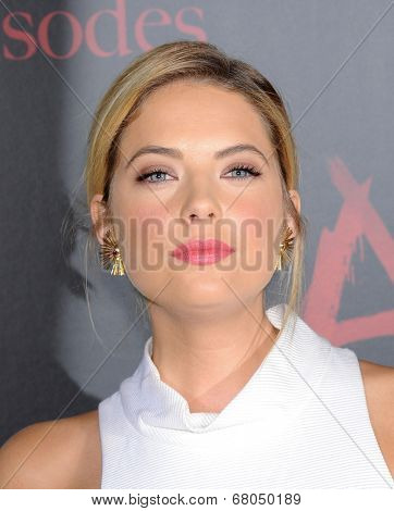 LOS ANGELES - MAY 31:  Ashley Benson arrives to the