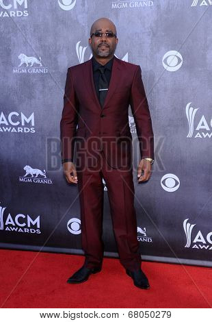 LOS ANGELES - APR 06:  Darius Rucker arrives to the 49th Annual Academy of Country Music Awards   on April 06, 2014 in Las Vegas, NV.