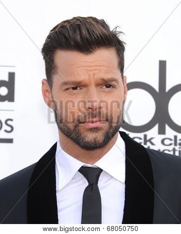 LAS VEGAS - MAY 18:  Ricky Martin arrives to the Billboard Music Awards 2014  on May 18, 2014 in Las Vegas, NY