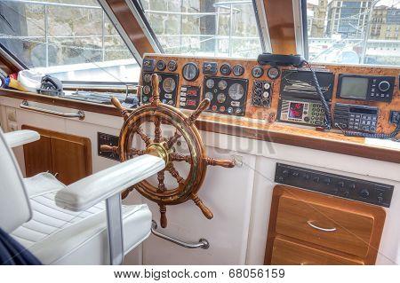Pleasure Boat Captain's Cabin